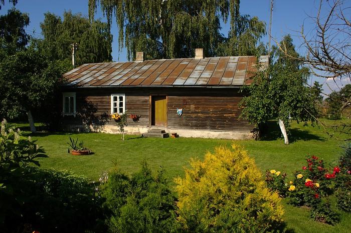 Old Lithuanian farm house