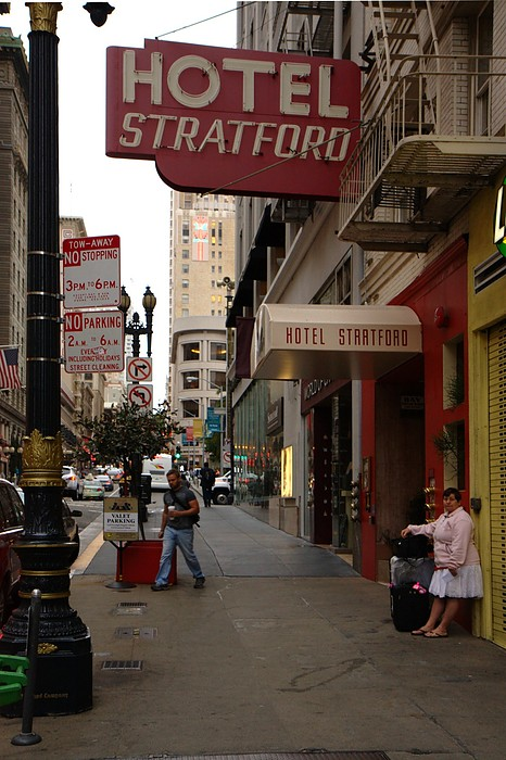 San Francisco: Hotel Stratford