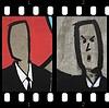 Faceless suitmen, now with faces